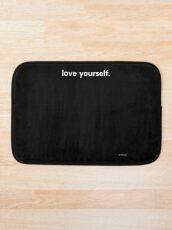 LOVE YOURSELF #4 Bath Mat