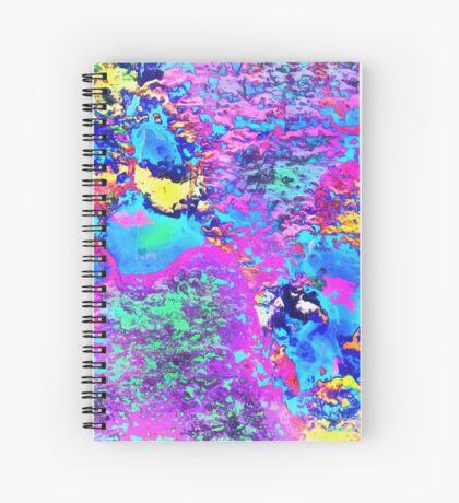Paw Prints Happy Days Spiral Notebook
