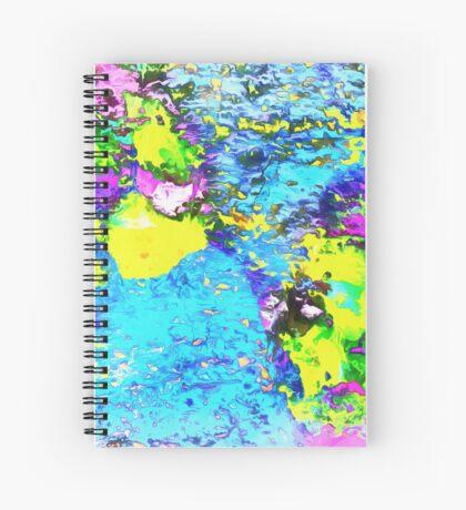 Paw Prints Seaside Paddle Spiral Notebook