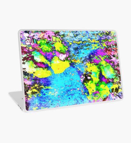Paw Prints Seaside Paddle Laptop Skin