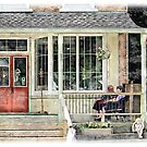 Porch Sitters by David Buckle