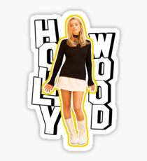 margot robbie / hollywood Sticker