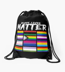 ALL BLM Drawstring Bag