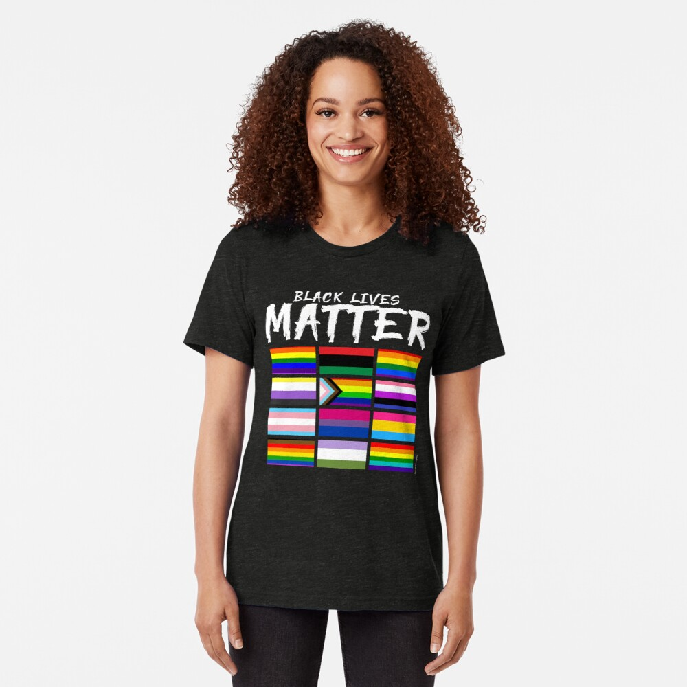 ALL BLM Tri-blend T-Shirt