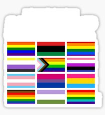 ALL BLM Glossy Sticker