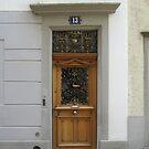 A Door in Zurich by Danielle Ducrest