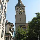 Two Kirches - Zurich, Switzerland by Danielle Ducrest