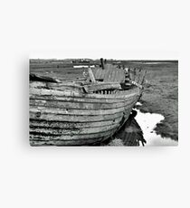 Blakeney Wreck Canvas Print