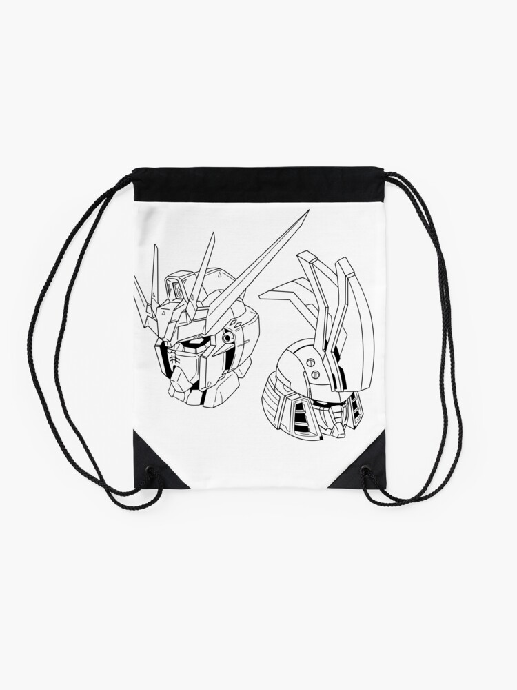 Alternate view of Tallgeese and Strike Freedom Drawstring Bag