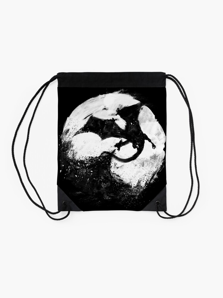 Alternate view of Midnight Desolation Drawstring Bag