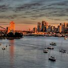 Threatened -Berry's Bay, Sydney Harbour (30 Exposure HDR PANORAMIC) - The HDR Experience by Philip Johnson