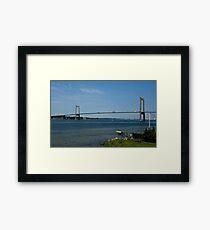 Bridges in Denmark - Little Belt Bridge Framed Print