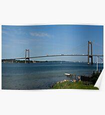 Bridges in Denmark - Little Belt Bridge Poster