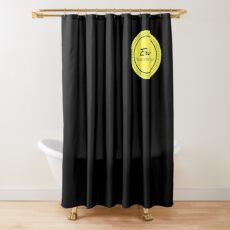 the small logo Shower Curtain