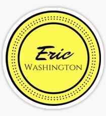 the small logo Glossy Sticker