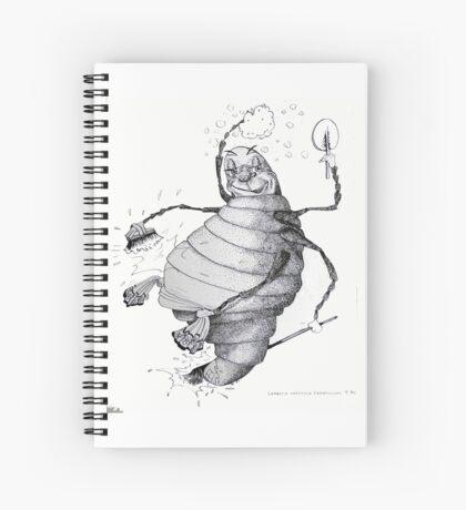 Glow-worm Spiral Notebook