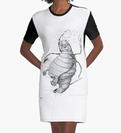 Glow-worm Graphic T-Shirt Dress