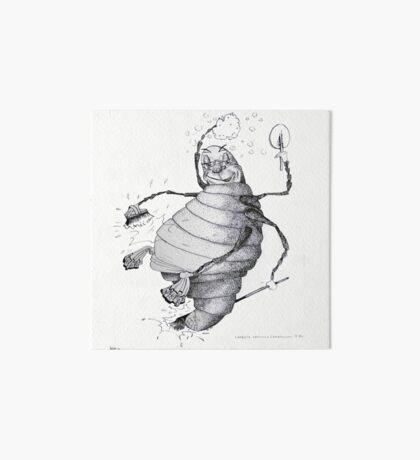 Glow-worm Art Board Print