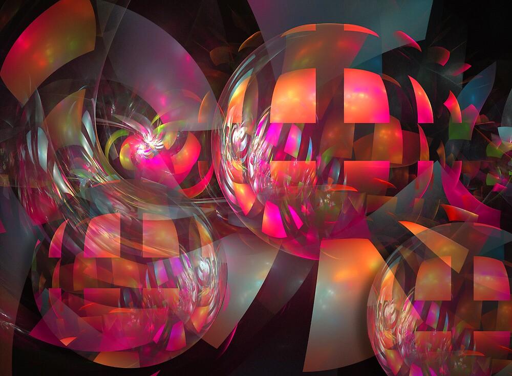 Shining balls by walstraasart
