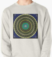 Macaroni and cheese mandala Pullover Sweatshirt