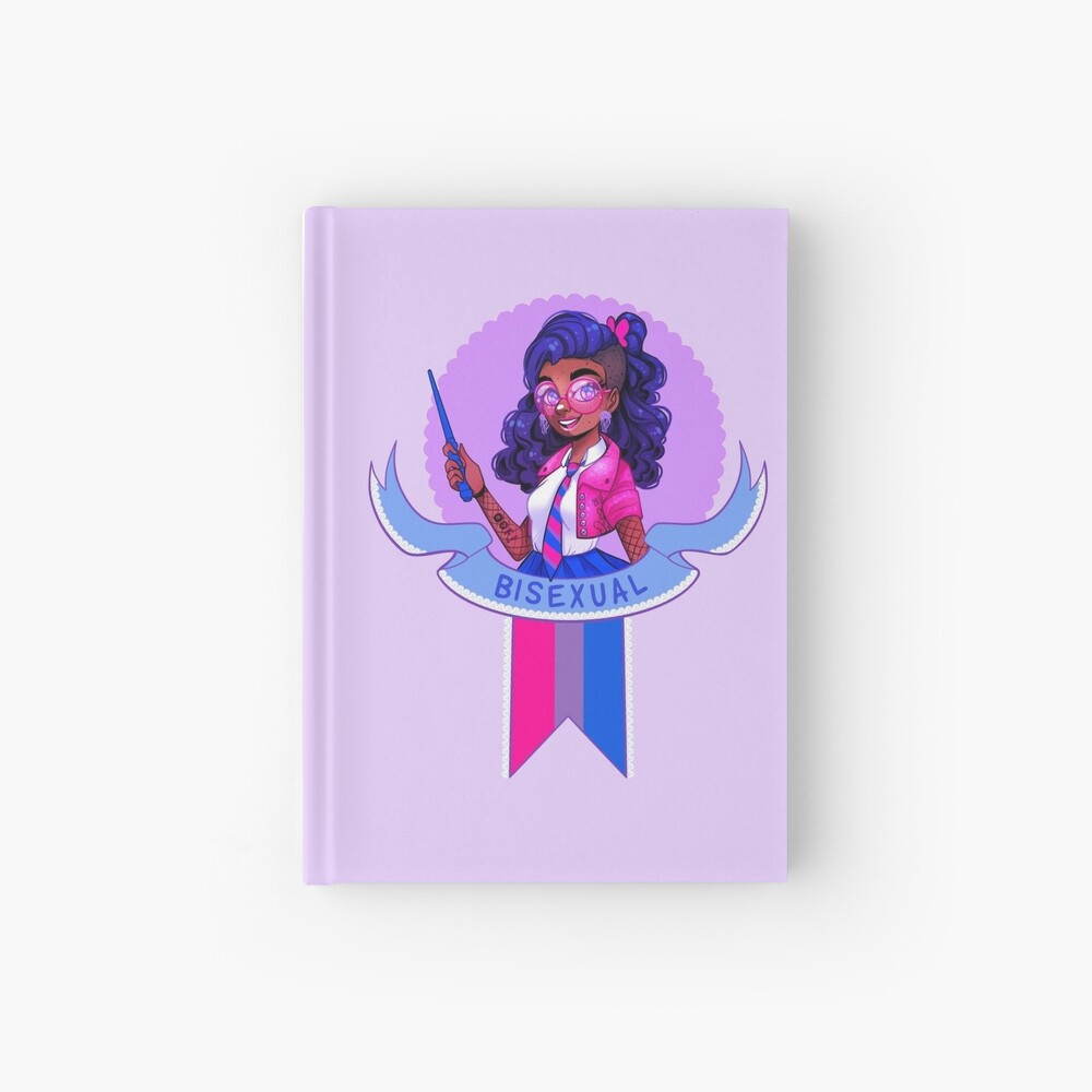 I was sorted into the Bisexual House Hardcover Journal