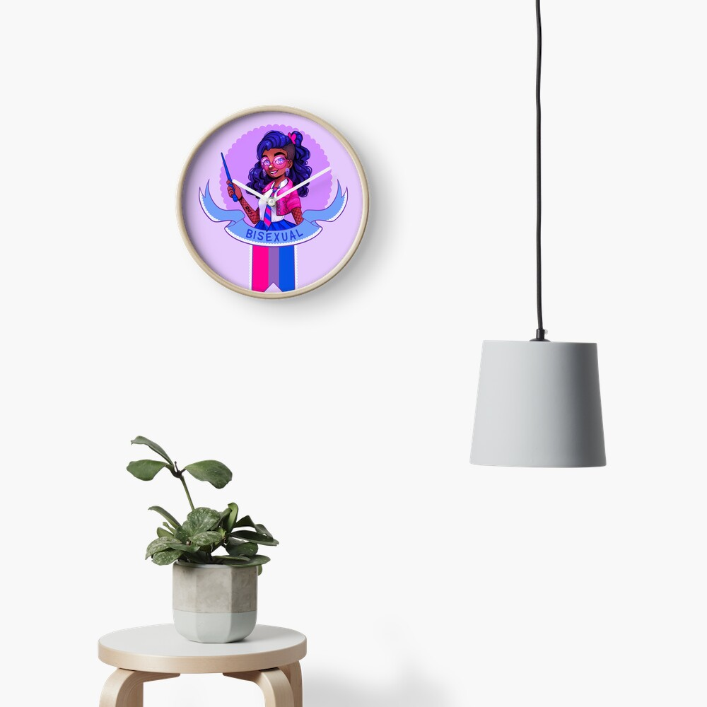 I was sorted into the Bisexual House Clock