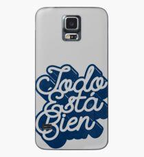 Todo Esta Bien (Navy) Case/Skin for Samsung Galaxy