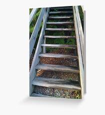 Upward Walkway (Fairy Bower) Greeting Card
