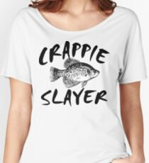 CRAPPIE SLAYER Women's Relaxed Fit T-Shirt