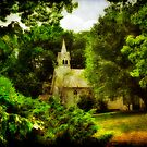 The Little Church On The Corner  - Maryland, USA by Lois  Bryan