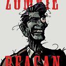 Zombie Reagan in Color by Sarjex