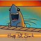 16. Happy Pool Shark by Naomi King