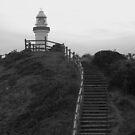 Byron Bay lighthouse by Scarlet