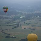 Hot air ballooning, Yarra Valley by Scarlet