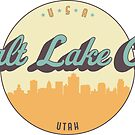 «sello vintage - Salt Lake City» de arielledesigns