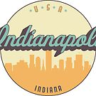 «sello vintage - indianapolis» de arielledesigns