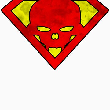 Superskull (Colour) by stuartist