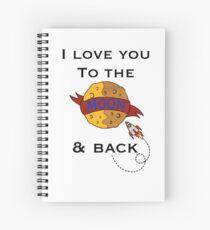 Cuaderno de espiral ToThe Moon and Back - Color