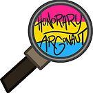 Honorary ARGonaut Sticker (Pansexual) by ARGonauts Podcast