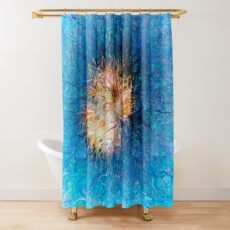 Dendrification 10 Shower Curtain
