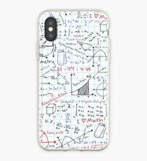 Mathematikhausaufgaben iPhone-Hülle & Cover
