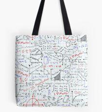Math Homework Tote Bag