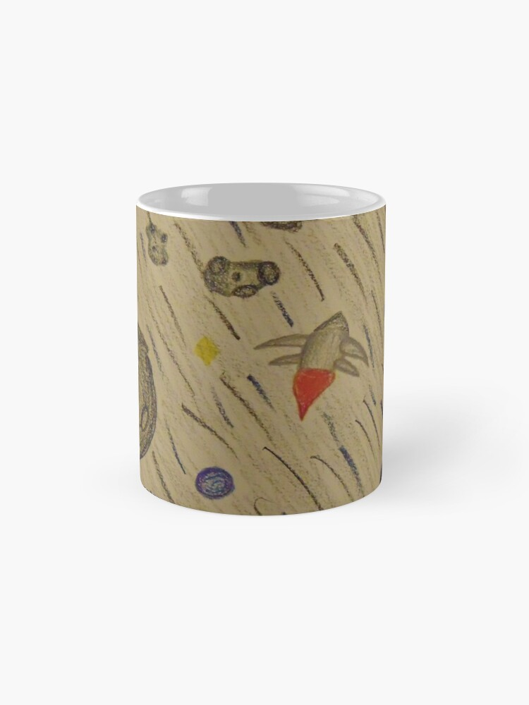 Alternate view of Another Day in the Asteroid Belt Mugs