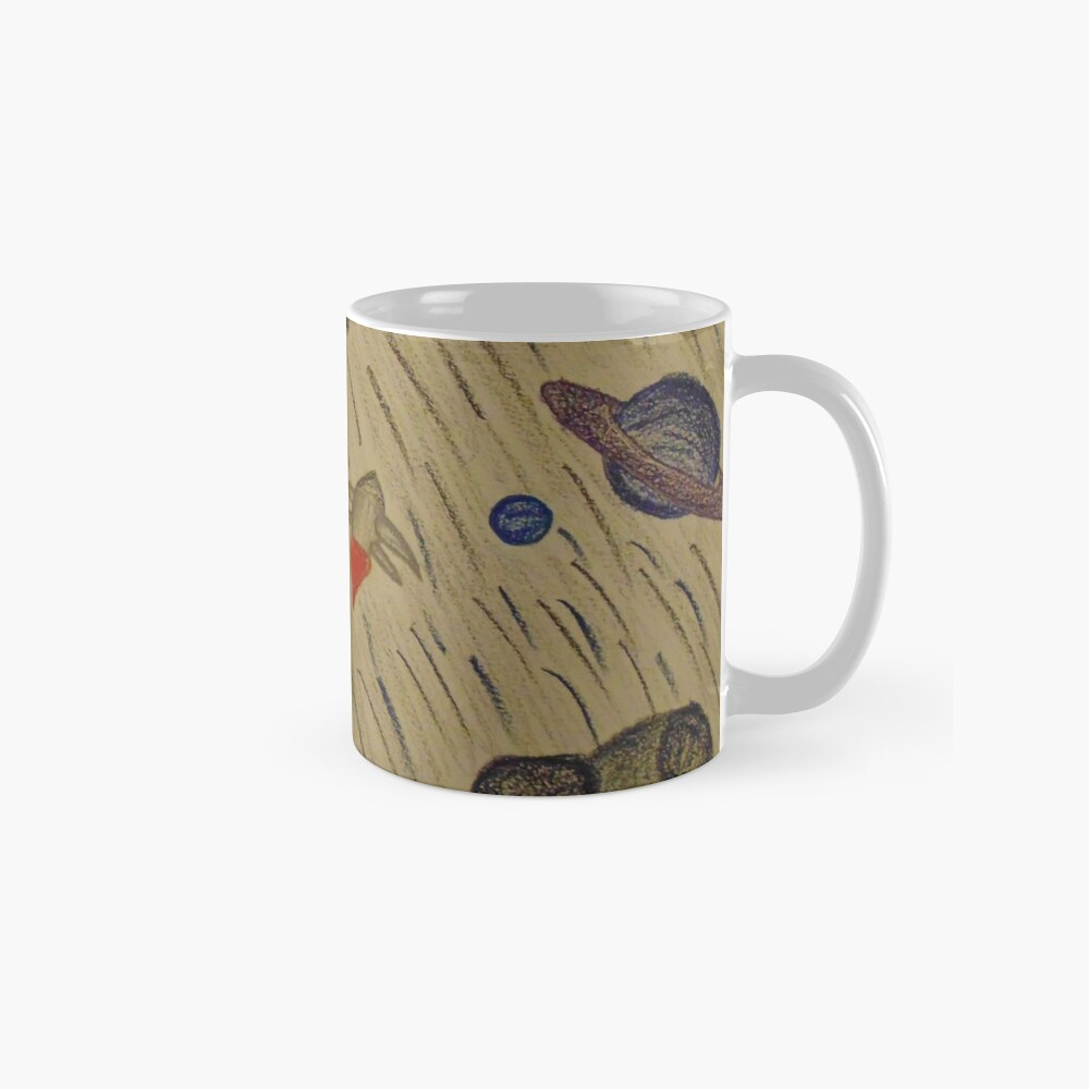 Another Day in the Asteroid Belt Mugs