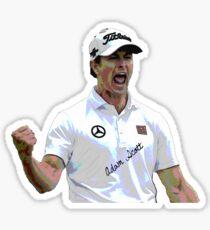 Adam Scott Sticker