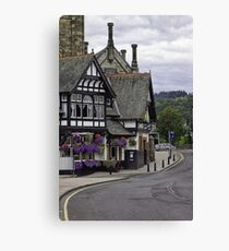 Bridge Inn Canvas Print