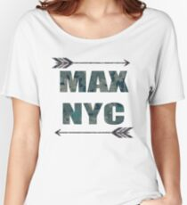 MAX NYC Women's Relaxed Fit T-Shirt