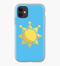 Shine Sprite Motif iPhone Case