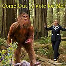 Hillary and Bigfoot by ayemagine