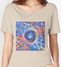 #Deepdreamed Abstraction Relaxed Fit T-Shirt